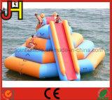 Corrediça de flutuação inflável da torre de água para a venda