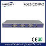 24fe Poe + 2SFP interruttore del CCTV Poe (POE2402SFP-2)