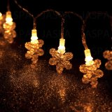 Geformtes LED dekoratives Licht der Plastikschneeflocke-(26-1P1611)