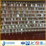 panneau en aluminium de finition de nid d'abeilles de moulin de 10mm pour le mur rideau