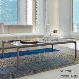 Mesa de centro caliente del vidrio Tempered de los muebles de la sala de estar de la venta (NK-CTA001)