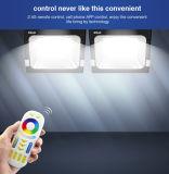 20W WiFi制御されたスマートなRGB+CCT LEDのフラッドライト(FUTT04)