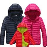 Roupa ajustada do inverno da família por atacado, revestimento da capa do inverno para homens e mulheres