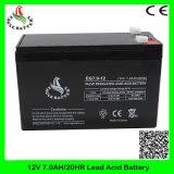 12V 7.0ah Mf nachladbare VRLA Speicher AGM-Leitungskabel-Säure-Batterie