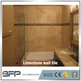 Rivestimento naturale della parete di pietra delle mattonelle della parete del calcare per la decorazione interna