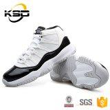 Basketbalschoenen van het Leer van de Lage Prijs van de goede Kwaliteit de Comfortabele voor de Schoen van de Sport van Mensen