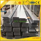 Personalizada en fábrica industrial de aluminio extruido para la construcción de edificios