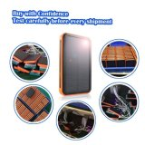 заряжатель USB солнечного крена силы заряжателя 9000ah водоустойчивый портативный двойной построенный в электрофонаре СИД