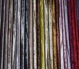 Tela aplicada con brocha decorativa del sofá del poliester de las ventas al por mayor