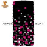 Bandana sans joint multifonctionnel Neckwarmer de tube d'écharpe magique UV-Protectrice annexe promotionnelle de polyester pour le recyclage