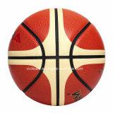 Baloncesto butílico de interior de la talla 7 de la vejiga del mejor precio