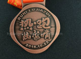 Het Metaal van de douane om Medaille met Embleem (gzhy-medaille-002)