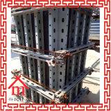 Shuttering do molde do muro de cimento