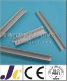 Het Profiel van het Aluminium van de decoratie met het Zilveren Anodiseren (jc-p-84069)