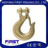 Fabricante chino de gancho de leva del resbalón de la horquilla G80 con el cierre