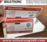 Signage 예술을%s Willstrong 미러 Planel 알루미늄 복합 재료
