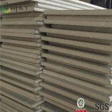 Prezzo usato di costruzione del poliuretano del pannello a sandwich dell'isolamento parete/del tetto
