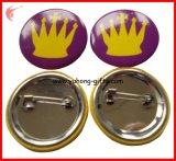 Insigne fait sur commande de bouton de bidon d'insigne de Pin en métal de vente en gros d'usine de la Chine (YH-TB004)