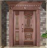 متأخّر [سوبريور قوليتي] [هندمد] نحاسة باب مع إبنة أمن تصميم