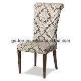 Металл роскошной гостиницы обедая стул