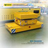 Carro liso motorizado uso da balsa do transporte da oficina de 5 toneladas