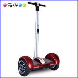 Motorino elettrico della rotella astuta dell'equilibrio due 10 pollici con la maniglia