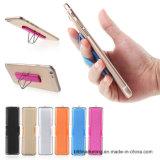 Sostenedor universal del teléfono de la correa de la venda de elástico del sostenedor del uno mismo del apretón del dedo de los teléfonos móviles con el soporte