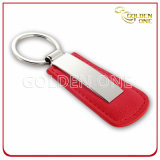 Förderung-Geschenk fertigen Haus-Form-Leder Keychain kundenspezifisch an