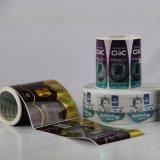 Etiqueta autoadhesiva impresa color auto-adhesivo de la alta calidad