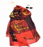 Lenço luxuoso de seda do projeto à moda de varejo da corrente da correia 2016