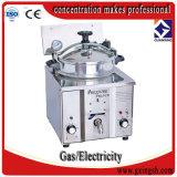 Máquina de la sartén de las patatas fritas de la ISO del Ce Mdxz-16, mini cesta de la sartén, sartén del transportador