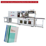 Macchina automatica di imballaggio con involucro termocontrattile della macchina imballatrice dello Shrink della fogna del libro