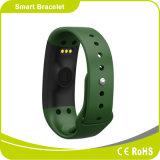 心拍数のモニタの歩数計のスリープの状態であるモニタIP-X5はスマートなブレスレットを防水する