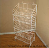 3-6 подгонянный слоем стеллаж для выставки товаров провода металла