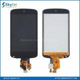 Visualización del LCD del teléfono móvil con las pantallas táctiles para LG E960