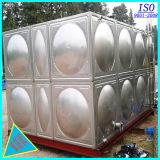 Tanque de armazenamento da água do aço inoxidável de preço de fábrica