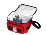 Travel Picnic Cooler Case Bag com alto-falante para música