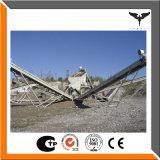 Banda transportadora de la trituradora de piedra, línea del transportador