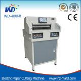 Machine de découpage de papier électrique professionnelle de coupeur de papier de Programme-Contrôle de constructeur (WD-4806R)