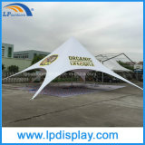 Dia 16m PVC広告のためのカスタム浜の星の陰のテント