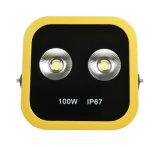 luz de inundação ao ar livre do diodo emissor de luz de 100W Osram5630