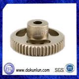 Präzision CNC, der anodisiertes Aluminiumritzel dreht