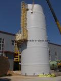 Tanque en fibras de vidrio para el tratamiento de aguas residuales