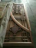 内部レーザーによって切られる装飾的なアルミニウムドア