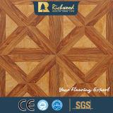 Pavimento di legno laminato fonoassorbente della quercia della plancia del vinile della famiglia 12.3mm