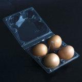 PVC Clear 4 Eggs Blister Packaging Box