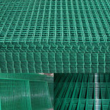 Frontière de sécurité soudée par PVC de treillis métallique la cour clôturant en vente
