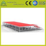 estágio de iluminação de alumínio da madeira compensada ao ar livre móvel ajustável de 1.22mm*1.22mm