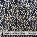 Elastisches Blumen-Spitze-Gewebe für Kleid-Zubehör (M5404)