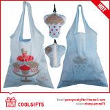 Reuseableの広告のためのナイロンFoldable 190tドローストリング袋